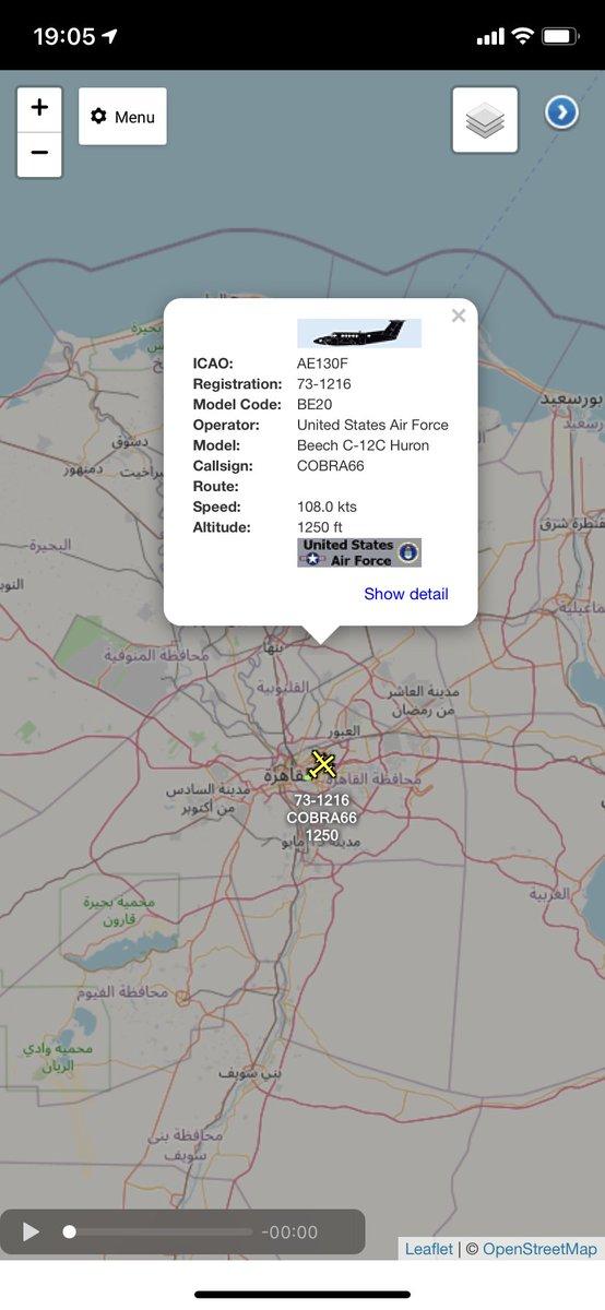 COBRA66 C-12C Huron 73-1216 out of Cairo, Egypt #potn https://t.co/KKGBGoNF3L