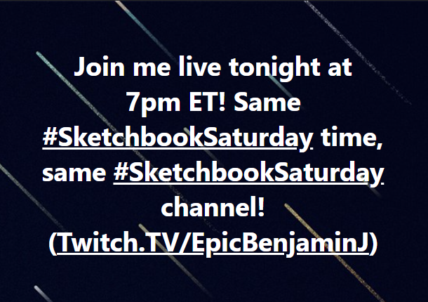 https://t.co/du9KeVZfPO #SketchbookSaturday #Twitch #twitchTV #livestreaming #liveart #livedrawing #Artist #DCComics #artistproblems #painting #livepainting #TwitchChannel #contentcreator #creativecommunity #twitchstreamer #MakeFriendsThroughArt #BatmanDay  @twitch @streamlabs https://t.co/x1udZ2V5Gs