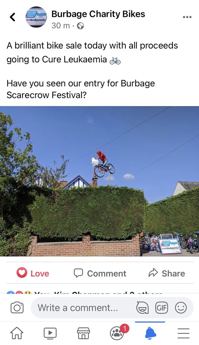 Burbage Charity Bikes now have their own Facebook page! Go give them a like and show your support for #TeamDaly & their magnificent fundraising for @CureLeukaemia ❤️ #thatsCallumshoodieupthere 😆 https://t.co/Xcft9gcRW6