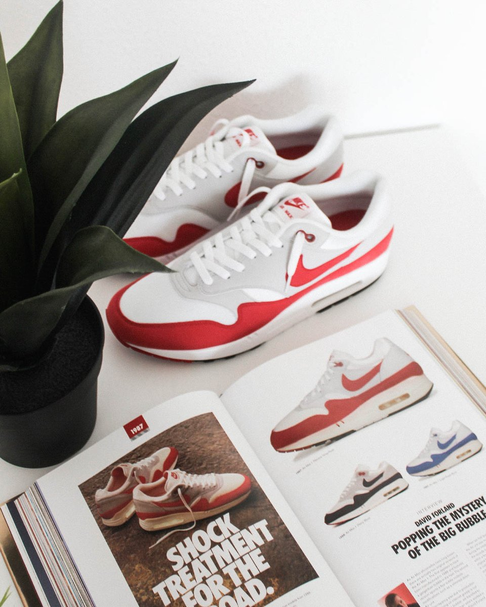 Are OGs the best colorways?  📷 Nike Air Max 1 Anniversary Red #airmax1 #airmax #am1 #nike #og #anniversary https://t.co/diGaXXQkB8