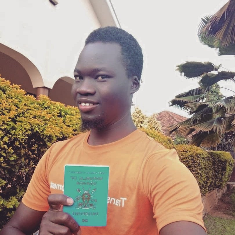 Yesterday, Felix collected his first passport as his role with FUFA takes him on his first overseas training camp in Oct!  Local capacity exists. Mentoring works. The future of African sport is African.  The journey continues!!   📷: The new passport!   #MakingSportFairer   5/5 https://t.co/97ilWjbyMC