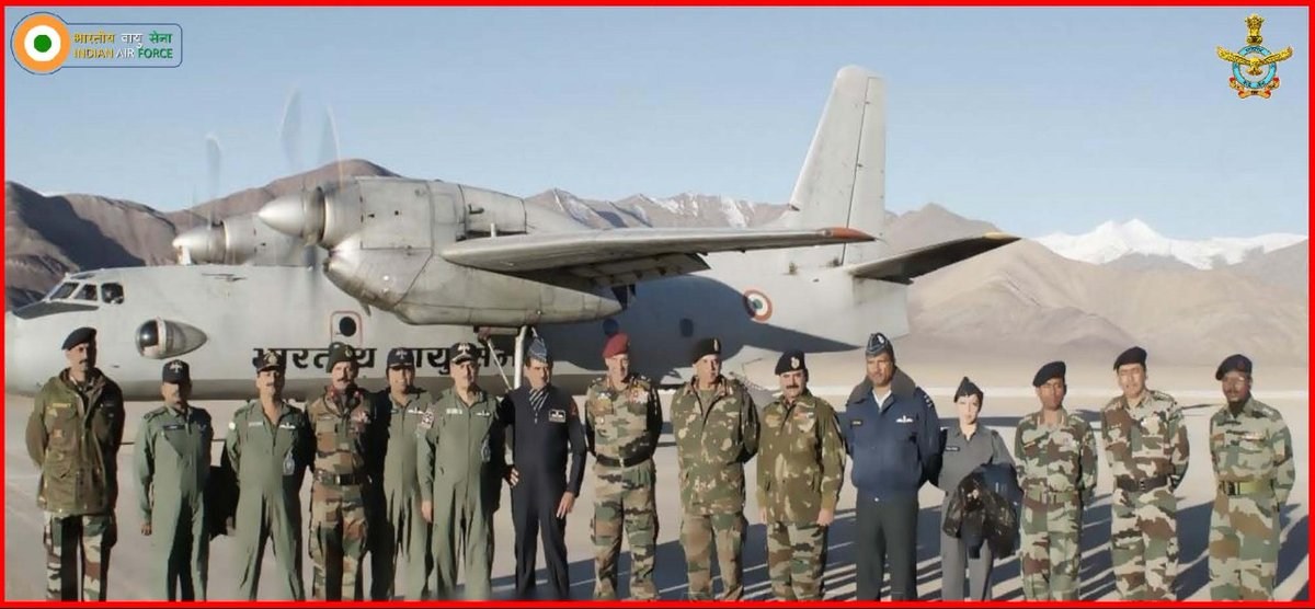 #DidYouKnow: On 18 Sep 2009, an AN-32 aircraft of IAF landed at Nyoma. This was the first landing of a fixed-wing aircraft at Nyoma Advanced Landing Ground (ALG). The ALG is located at a height of 13000 feet in the Ladakh Sector.