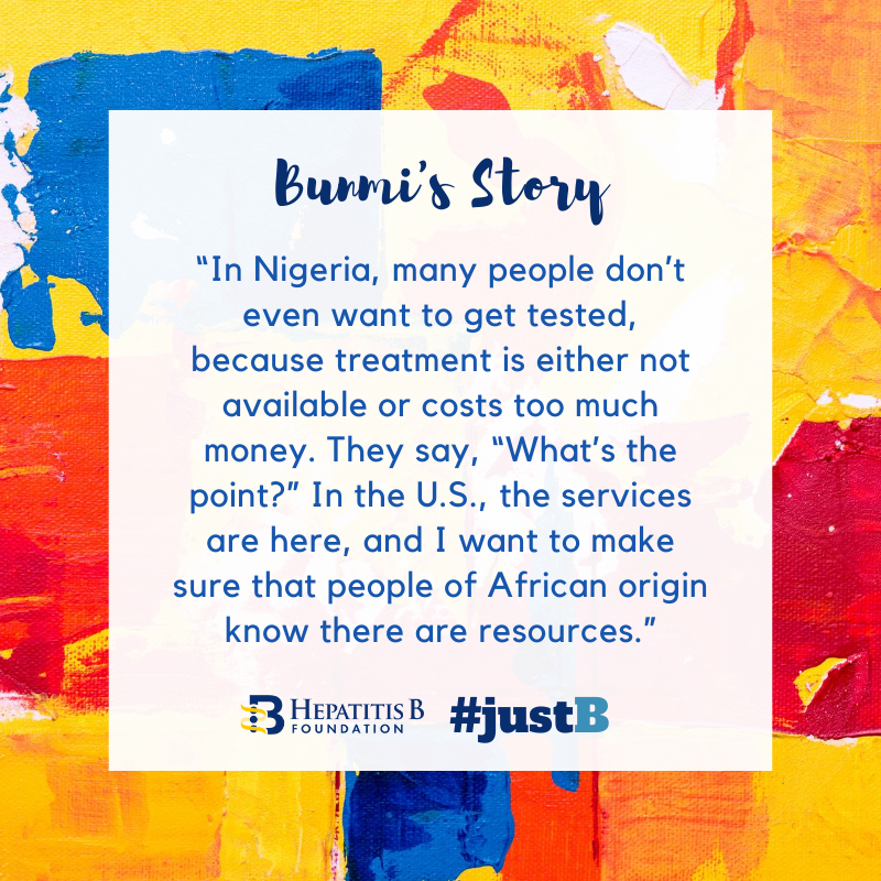 #Stigma & #discrimination are prevalent in many cultures, & are barriers to #hepatitis B testing and prevention efforts. Bunmi's father was reluctant to discuss his #HBV status, & sought care when it was too late. A conversation today can save a life.  https://t.co/TVPtS91oC4 https://t.co/8sQzmS57zQ