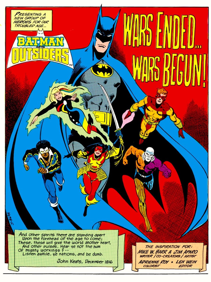 Jim Aparo splash #BatmanDay https://t.co/8e7BKpsPnK