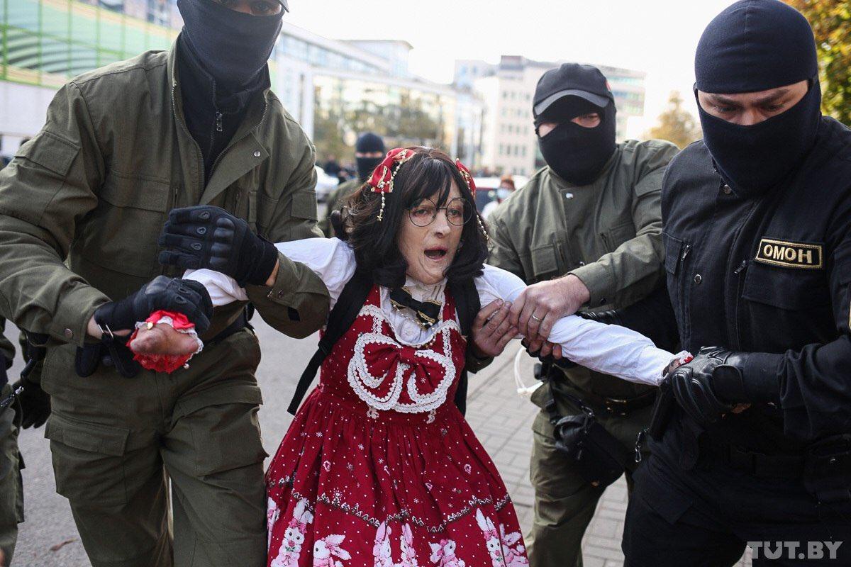 Уже традиционно на змагарских мероприятиях ОМОН проводил задержания