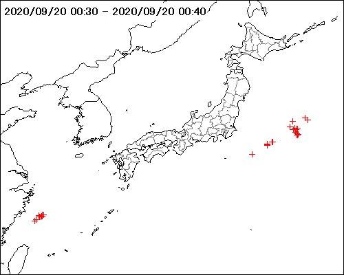 雷監視システム #LIDEN (LIghtning DEtection Network system)で観測した対地放電が、直近10分間に50回以上ありました。 #雷 #落雷 #天気 #weather  詳細はこちらから https://t.co/Xsdu0FLk7B https://t.co/xNr70dyNJS