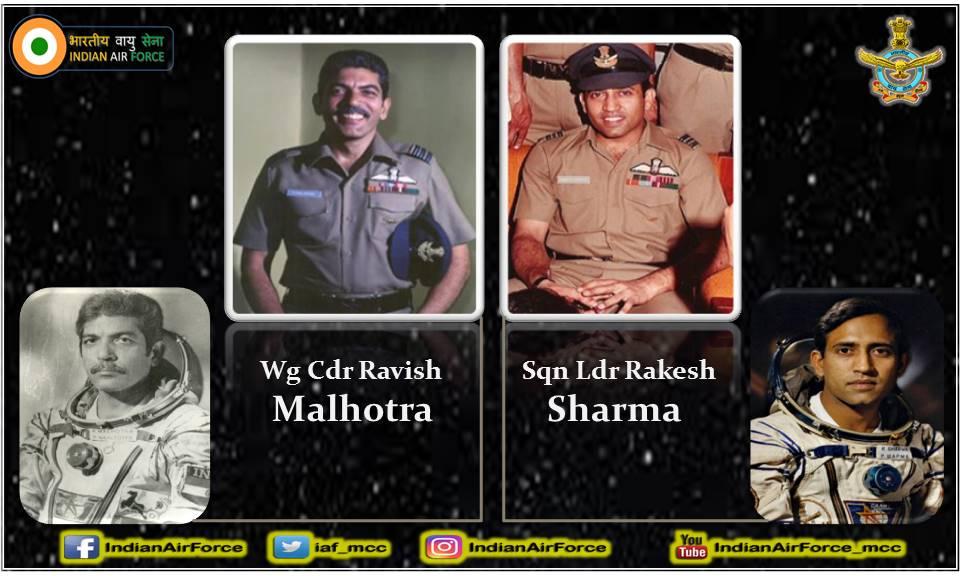19 सितंबर 1982 को विमान और सिस्टम परीक्षण प्रतिष्ठान (ASTE), भारतीय वायु सेना के दो पायलट, विंग कमांडर रवीश मल्होत्रा और स्क्वाड्रन लीडर राकेश शर्मा संयुक्त भारत-सोवियत मानवयुक्त अंतरिक्ष उड़ान की एडवांस्ड प्रशिक्षण के लिए मास्को रवाना हुए थे। #DidYouKnow #History