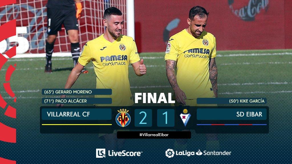Villarreal-Eibar