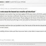 "Image for the Tweet beginning: 🖋 Sign ""SCOTUS vote must"