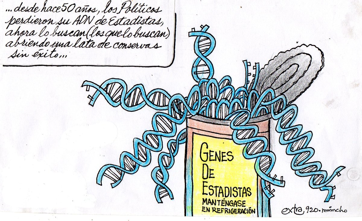 """#HumorExtra / Les compartimos la sección de caricatura elaborada por Benjamín García """"Mincho"""". https://t.co/5zxIA5AKvF"""