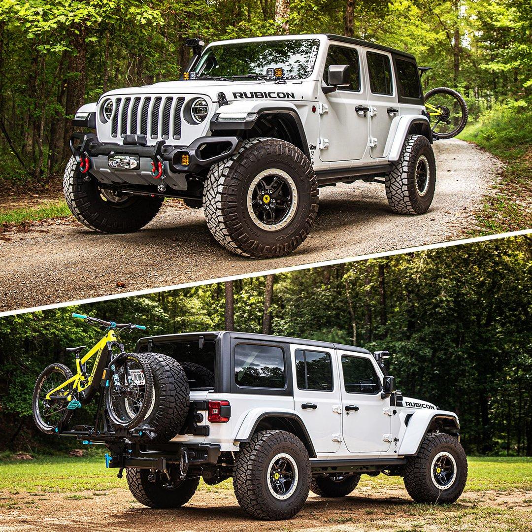 Perfect Grapplers for a weekend getaway. #RidgeGrappler l @mbrpexhaust https://t.co/E8kD6gqZra