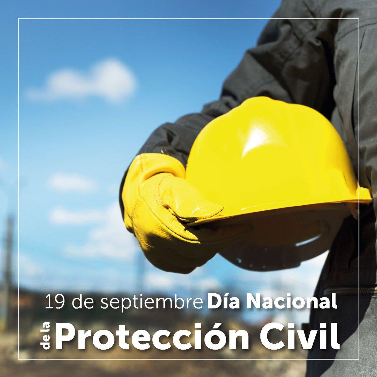 Mi reconocimiento a todas y todos los servidores de #ProtecciónCivil, por su noble y valiente labor.  Gracias por salvaguarda las vidas humanas, los bienes y el entorno en el que vivimos.  #DíaNacionalDeProtecciónCivil 👨🏻🚒👩🏼🚒  @ProtCivilSLP | #SLP https://t.co/ihtYjfMPJI