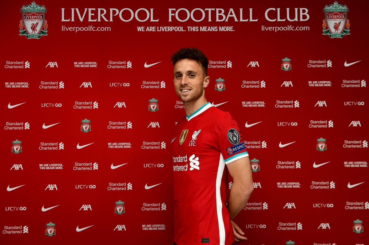 24 hours after Jota was mentioned with a move to Liverpool he is announced as a Liverpool player. @LFC https://t.co/1Ut7i6Nu8U