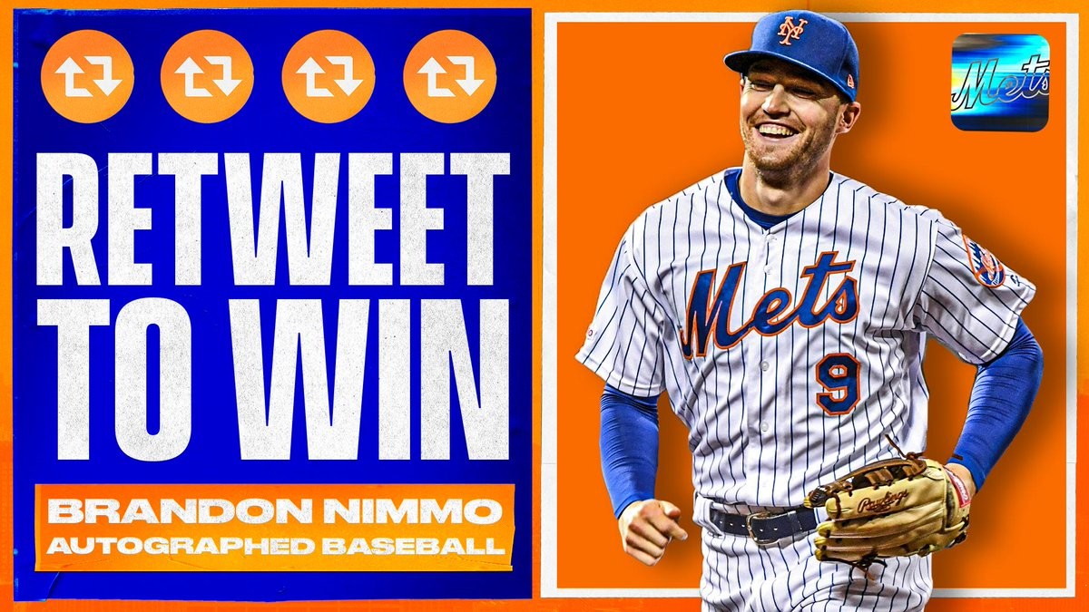 RT to win a baseball signed by @You_Found_Nimmo! ⚾️ #THXMetsFans https://t.co/k2R0KQPgn0