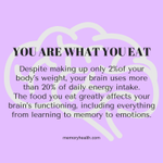 Image for the Tweet beginning: The #food you #eat determines