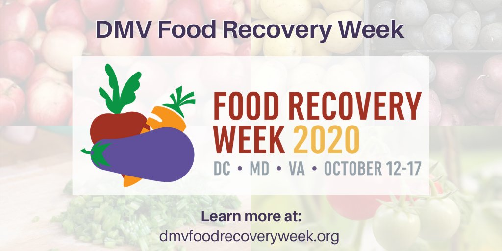 We're excited to partner with @dcfoodrecovery along with @mannafoodcenter to host #DMVFoodRecoveryWeek, a series of free events teaching creative ways to reduce food waste and support a more resilient food system.   Learn more at: https://t.co/HExHlPRGv2 https://t.co/TUZqK1iFJt