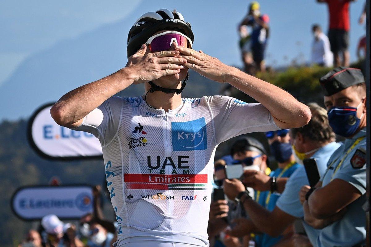 Tour de France – Pogacar renverse le classement général et s'adjuge l'étape https://t.co/T5z3AzKICq https://t.co/IuPFRjyvSR