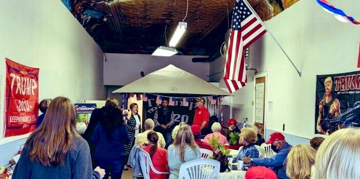Clarion, Pennsylvania is ready for #FourMoreYears Thank you for all your hard work on behalf of @TeamTrump + @GOP! 🇺🇸