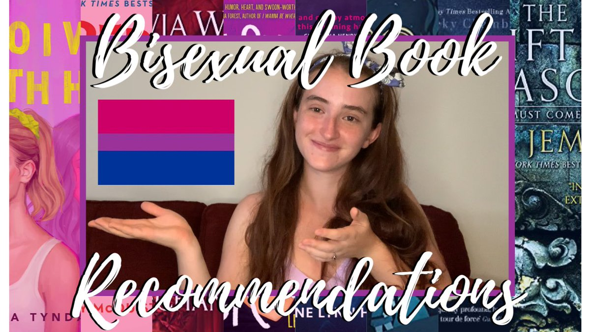 ✨NEW VIDEO✨ Bisexual Book Recommendations💖💜💙 Inspired by the release of @NitaTyndall's Who I Was With Her, here are 10 recommendations of books with bisexual characters. youtu.be/47dqhgh9GGk