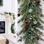 Image for the Tweet beginning: Christmas Eucalypts Pine Garland, Pinecone