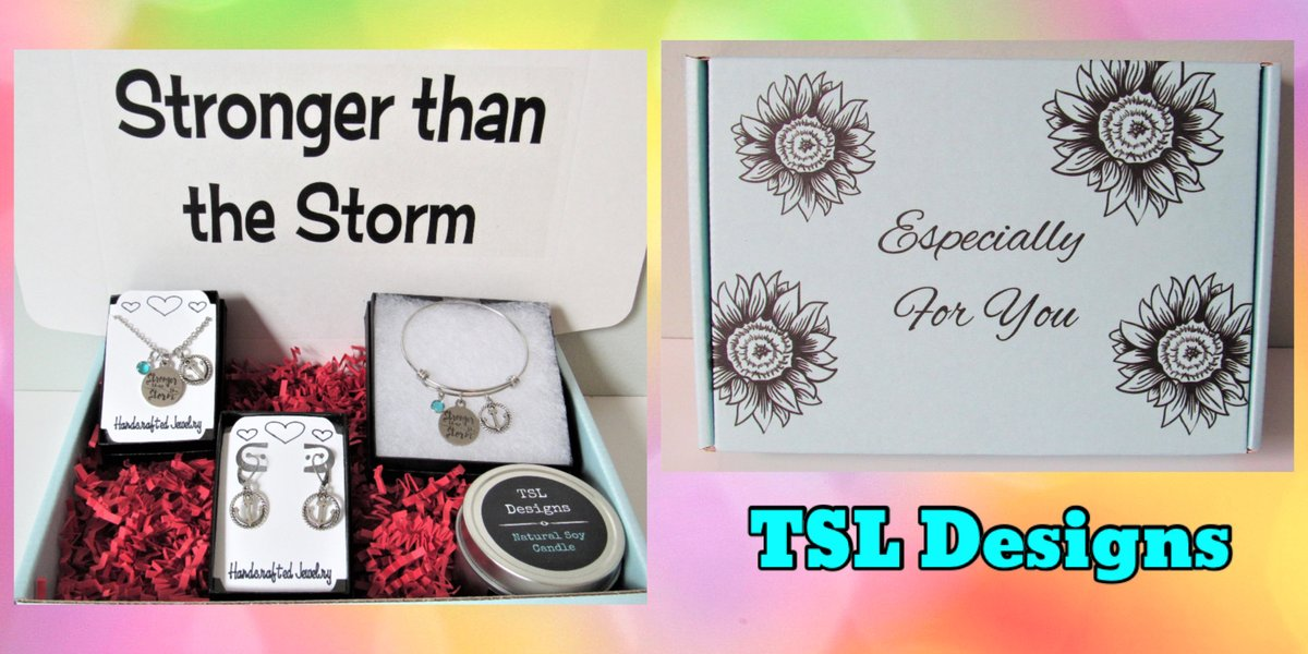 Stronger Than The Storm Gift Box contains a Necklace, Bracelet & Earrings with an Anchor Charm and Handpoured Soy Candle https://t.co/RSpqPrercP #giftbox #giftideas #strongerthanthestorm #motivationalquotes #inspirationalquotes #handmade #jewelry #handcrafted #shopsmall #etsy https://t.co/pA3b1pY6DQ