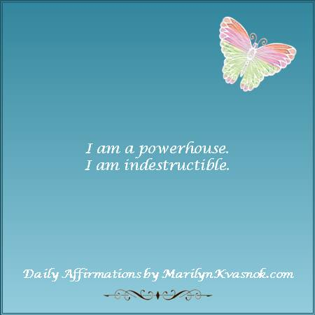 #quote #affirmation  https://t.co/eqcGduOoDb   I am a powerhouse.  I am indestructible. https://t.co/D8hz3fKMny