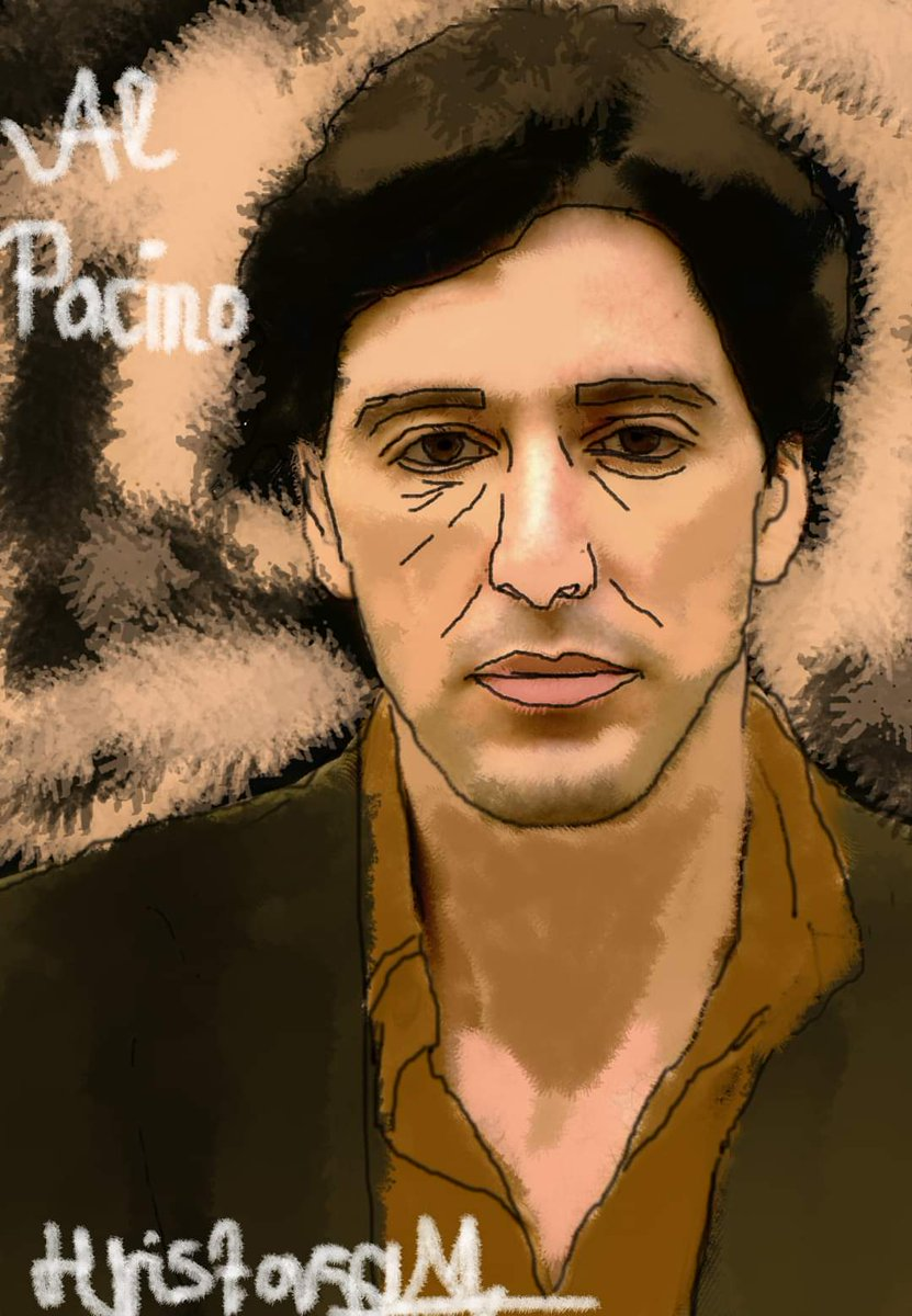 When you have to study, but you find more interesting things as painting for example 😂 My last digital painting of young Al Pacino in the legendary Godfather ❤️ #AlPacino #TheGodfather @AlPacinoinfo @godfathermovie @godfathermobile https://t.co/PsYKJ7zBqb
