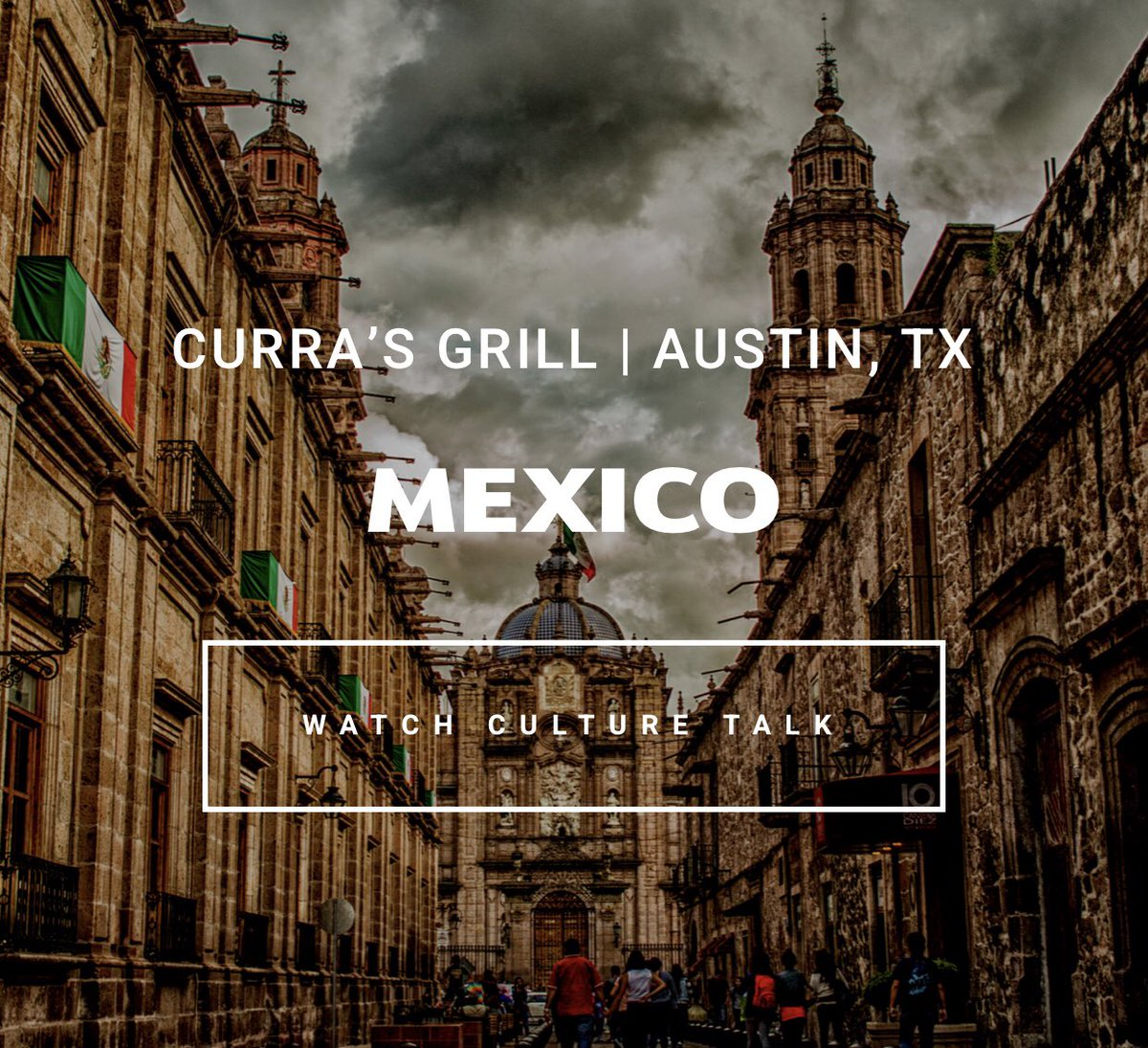 Get to know Mexico with culture talk host Jorge Garcia, through his family history in Ranching; his mother's recipes, homemade tortillas, transporting you through the craft of @CurrasGrill in Austin, TX.  Watch Culture Talk: https://t.co/Ge1amOPKox  #austin #atxeats #atxfoodies https://t.co/eplJxiETko