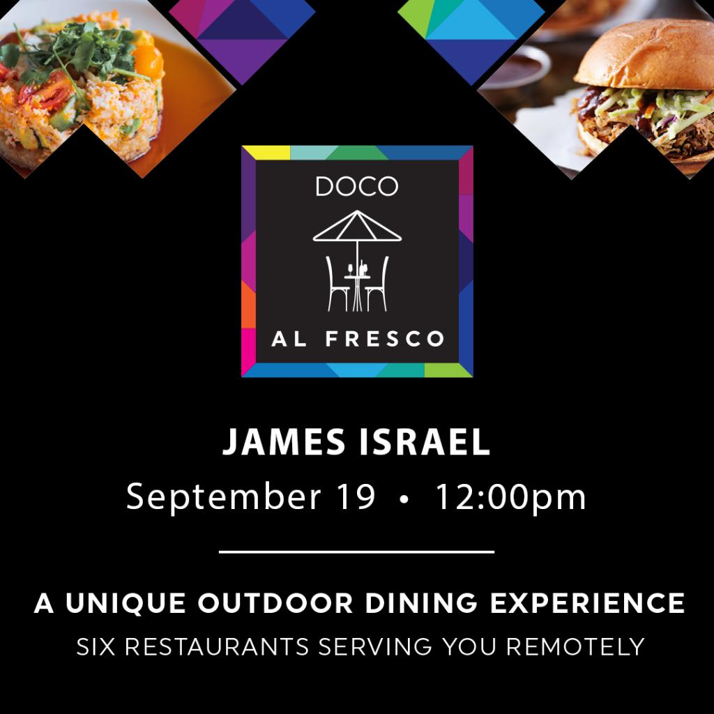 Dine outside on the iconic @docosacramento plaza and enjoy live music all weekend!  𝓢𝓪𝓽𝓾𝓻𝓭𝓪𝔂 🎶 12-2 PM James Israel 🎶 4-6 PM Rod Stinson Band 🎶 7-9:30 PM Scott Graham https://t.co/0fYmJs4lqg
