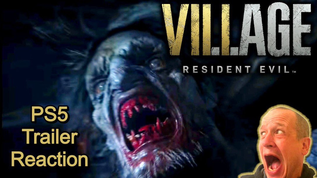 resident evil 8 trailer reaction