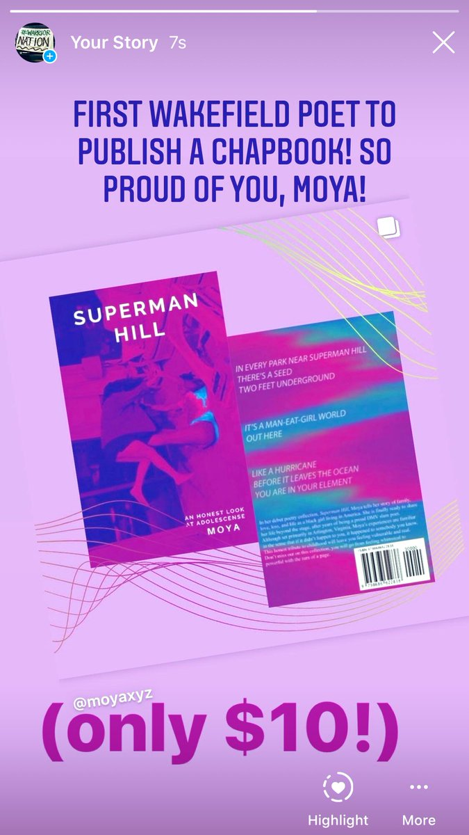 GO TO INSTAGRAM RIGHT NOW AND BUY A COPY OF MOYA'S CHAPBOOK!!! Only $10!!!  (Link in her bio <a target='_blank' href='http://twitter.com/moyaxyz'>@moyaxyz</a> on IG) <a target='_blank' href='https://t.co/WBRe380xyB'>https://t.co/WBRe380xyB</a>
