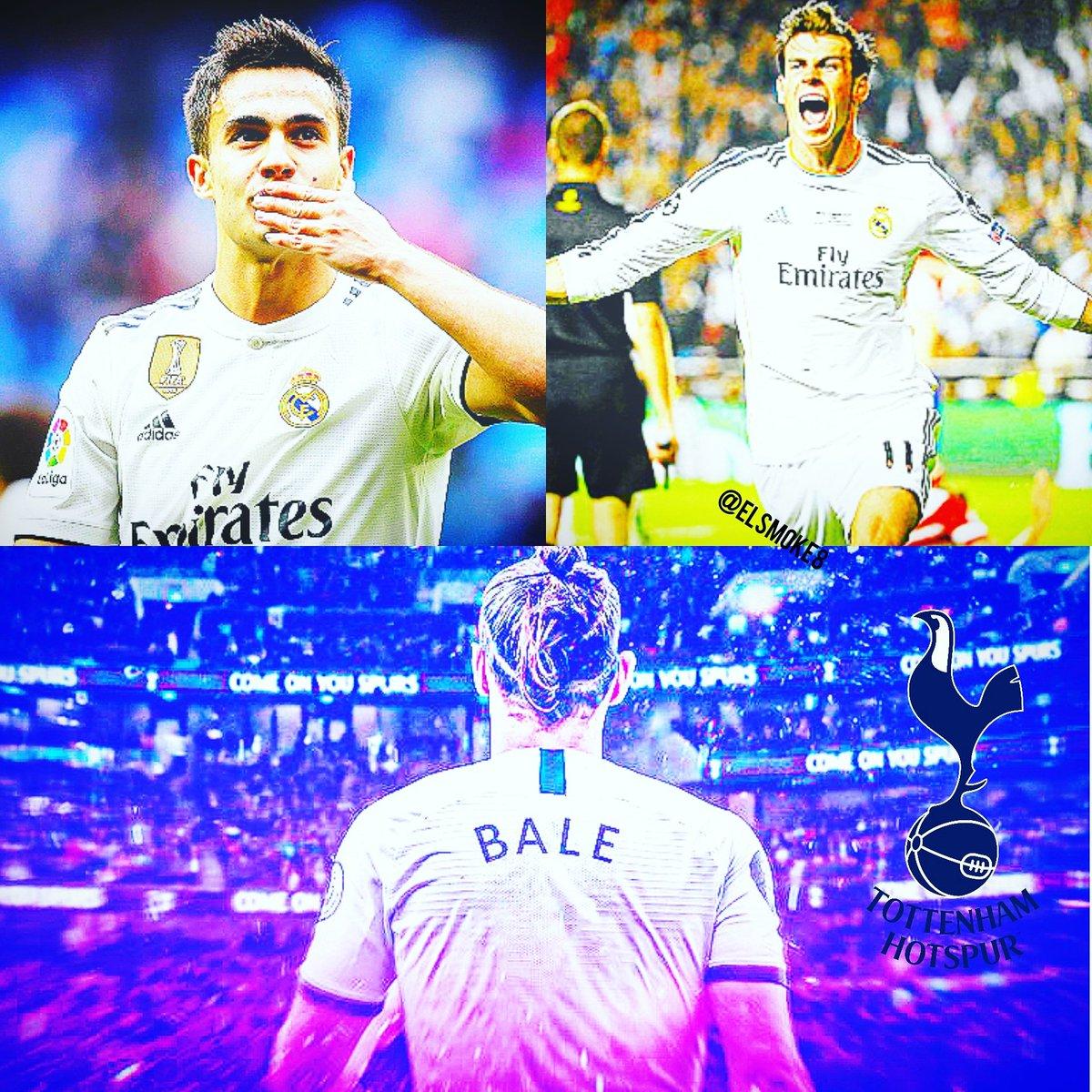 OFICIAL 🔻  Gareth Bale 🏴 (cesión) y Sergio Reguilon 🇪🇸 (€30M) son nuevos jugadores del Tottenham Hotspur 🏴, el Real Madrid 🇪🇸 se guarda una opción de compra y tanteo por Reguilon.  #liverpool #fcbarcelona #leomessi #messi #ronaldo #cr7 #cristiano #realmadrid https://t.co/eJLqoNqoA9