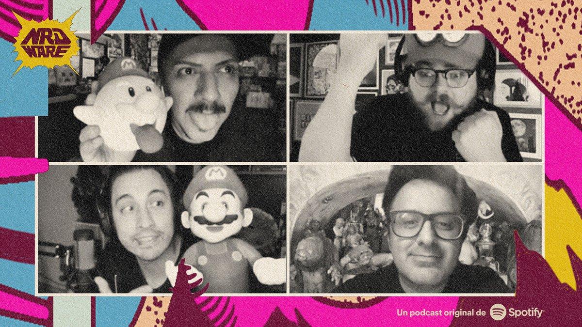 En el más reciente episodio de @nrdware charlamos largo y tendido de todo lo que tiene que ver con el #PS5  y Super Mario 3D all Stars. No se lo pierdan, solo por @SpotifyMexico https://t.co/jwdztDqFCO https://t.co/dwweHw7i4D
