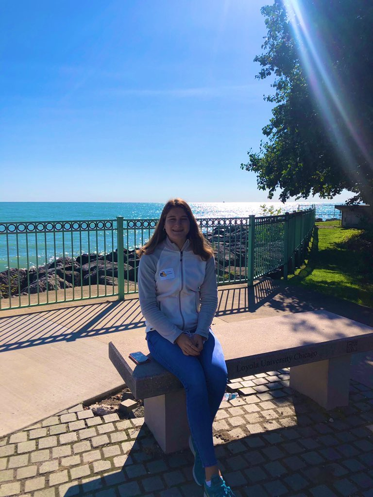 Had a great time visiting @LoyolaChicago @LoyolaAdmission this morning! I can definitely see myself going here! #lake #college #futureteacher #education #Loyola #Ramblers #Chicago #apply https://t.co/qEhxwQpzR4