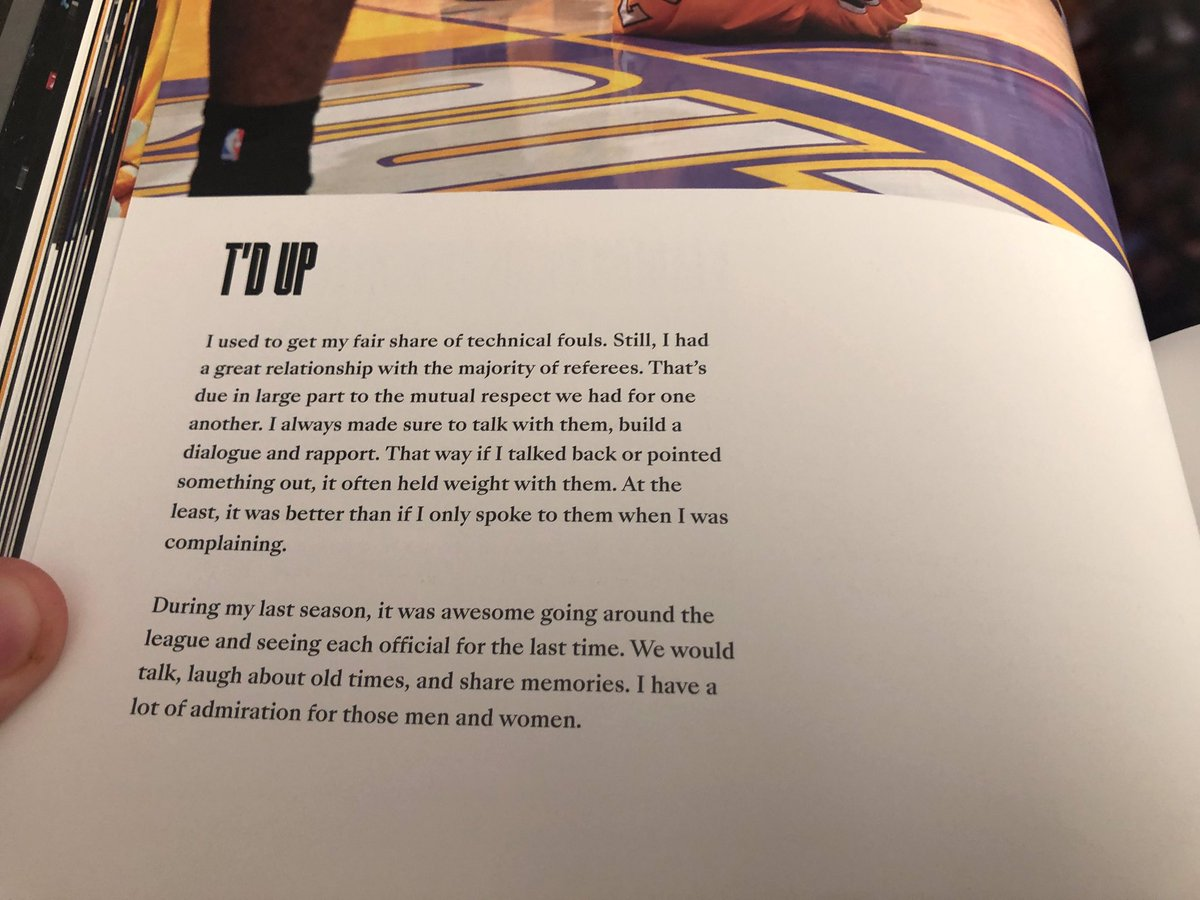 """We gifted my brother his all time favorite player's book. """"Mamba Mentality"""". He sent me these photos because I referee basketball. I love how much Kobe was THE student of the game! Thank you Harry! Thank you Kobe! #ripkobe #MambaMentality #TOGETHER https://t.co/FczFwZoarR"""
