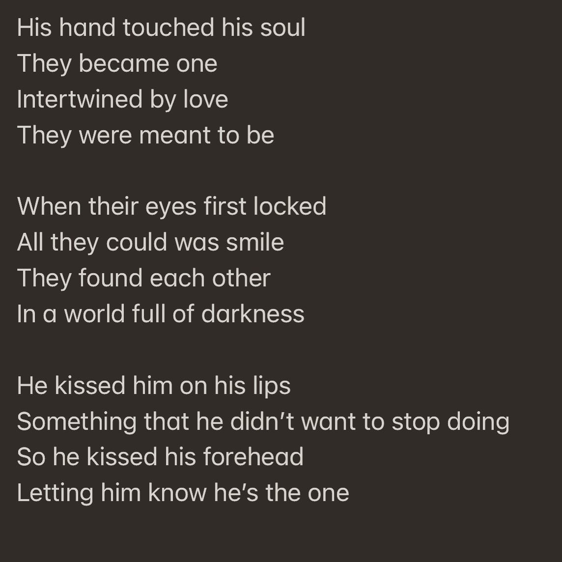 A poem I wrote #LGBT https://t.co/9YZrT5sd4M