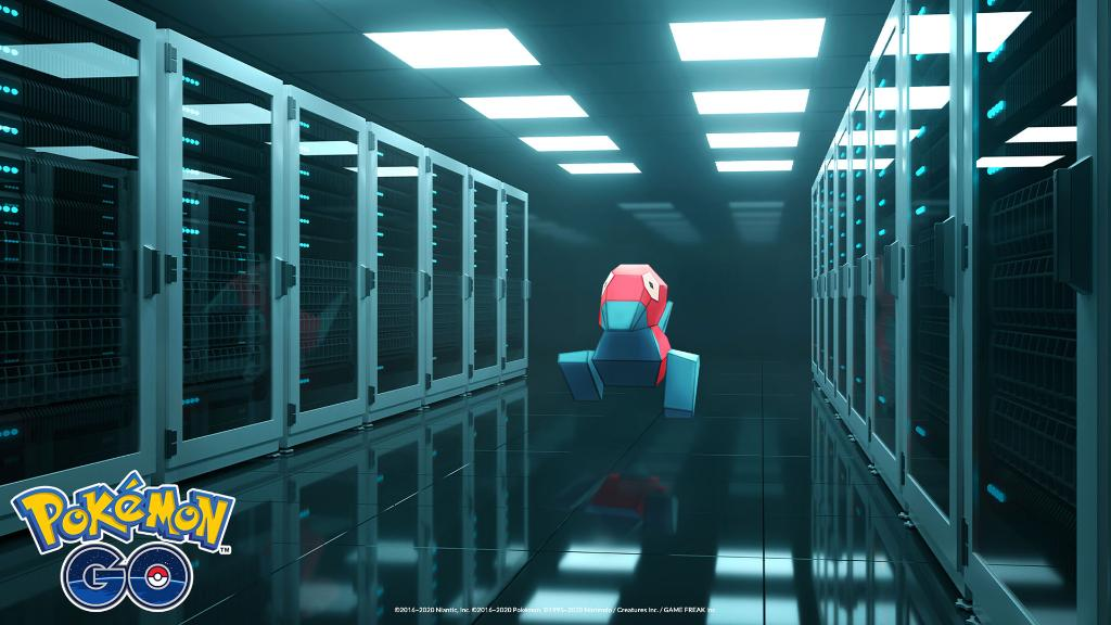 Get ready for another exciting #PokemonGOCommunityDay with these Porygon-themed video-chat backgrounds. Available to download for free! https://t.co/mgY2EDTLJy