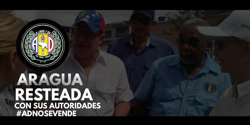En #Aragua la gente en cada rincón de nuestra geografía reconoce a José