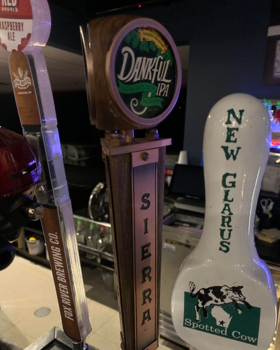 Just Tapped - Sierra Nevada - Dankful (Limited run IPA)  7.4% ABV, 55 IBU  We're very THANKFUL to have this on tap, and do our part in helping World Kitchen and Restaurant Employees around the country during this Pandemic.  #sierranevada #ipa #craftbeer #dankful #supportlocal https://t.co/iEmbm2Q1Fy