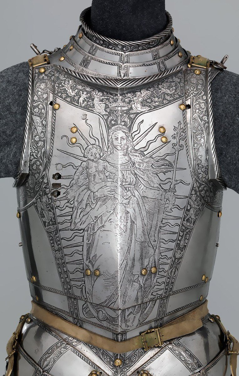 Armor of Ferdinand I, Holy Roman Emperor. https://t.co/RaNeJqhyEG