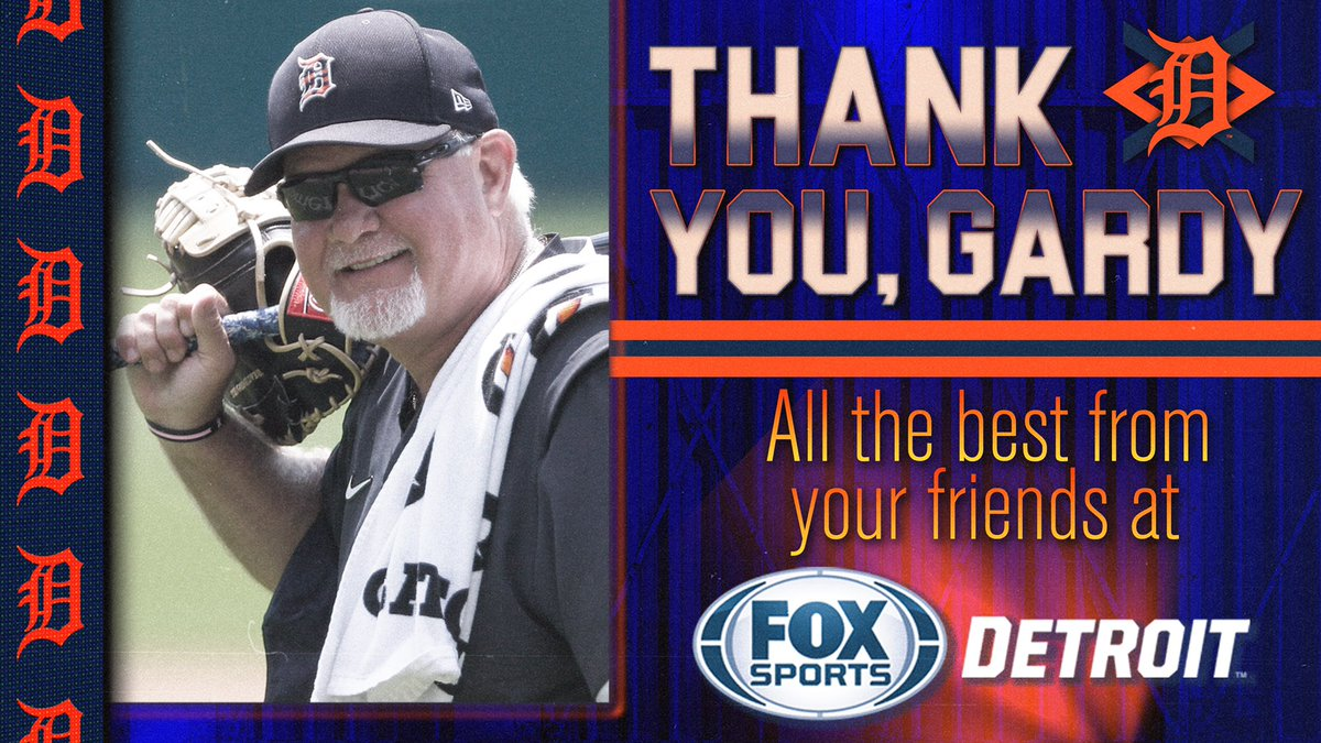 To a great manager, a phenomenal guy, and a truly awesome baseball person, we have only one thing to say:  Thank you, Gardy. #DetroitRoots https://t.co/7ylBbGQOlD