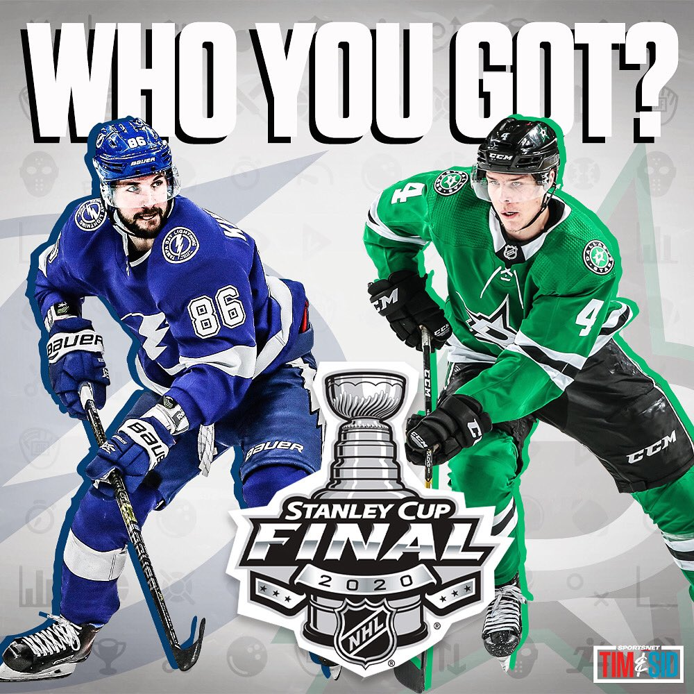 Who you taking to win The Cup? 🤔 #StanleyCupFinal