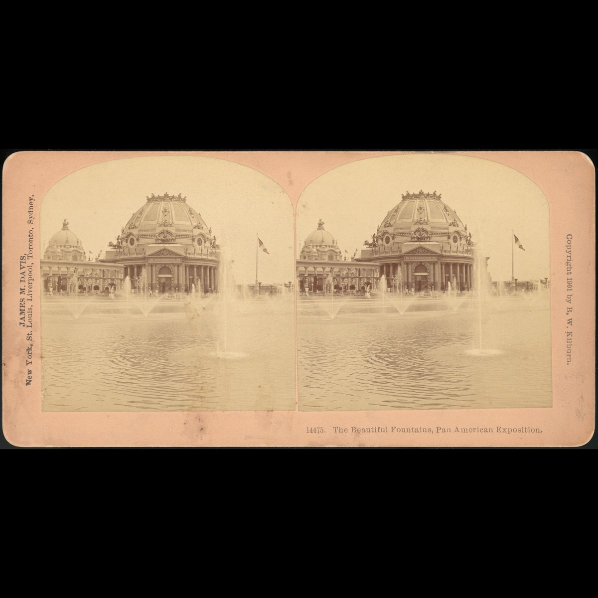 [Group of 3 Stereograph Views of the 1901 Pan American Exposition, Buffalo, New York] Stereographs created by: James M. Davis  #art #artwork #artlover #artaccount #arte #アート #艺术 #JamesM.Davis https://t.co/69BN4Td10Q
