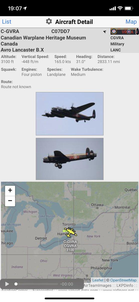 Avro #Lancaster C-GVRA over #Buffalo #potn https://t.co/19EdolZLGw