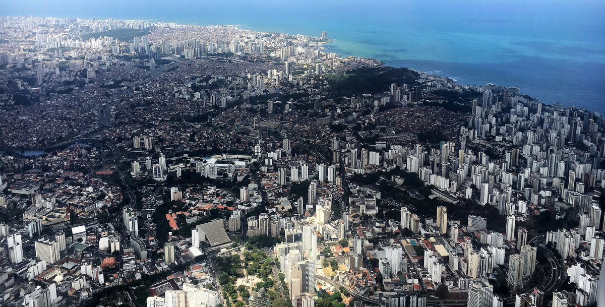 The city of Salvador da Bahia was founded in 1549 under the name of São Salvador da Bahia de Todos os Santos (Holy Savior of the Bay of All Saints). But it was known as the city of Bahia between the 16th and 19th centuries. Learn more about its history: https://t.co/WC0ONKdyg4 https://t.co/1Qe0fe4M3q