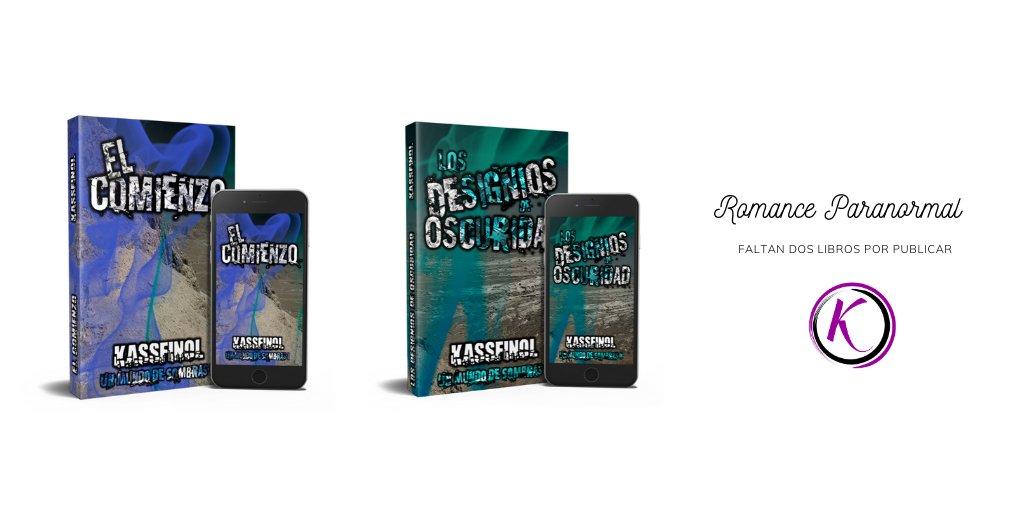 Saga Un mundo de Sombras de Kassfinol: #Novelas de #romance #paranormal, #acción y #humor negro. Lee sus primeros capítulos aquí:  👍 https://t.co/uK1EZ23Civ   #book #gratis #kindleunlimited #libros #eBook #novela #literatura #leer #Amazon https://t.co/jdHxU94mLK