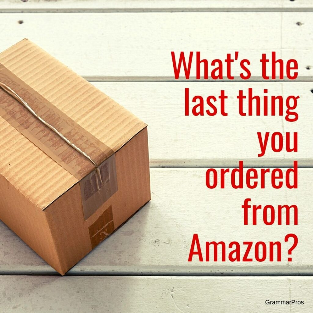 Anything unusual? 🤣  For me, just more 😷  #quarantinelife #onlineshopping #quarantinediaries #stayinghome #nextyearisouryear #nextyeariscoming #theresalwaysnextyear #bringon2021 #amazonhome #amazonfinds https://t.co/6OBqE4iTEs
