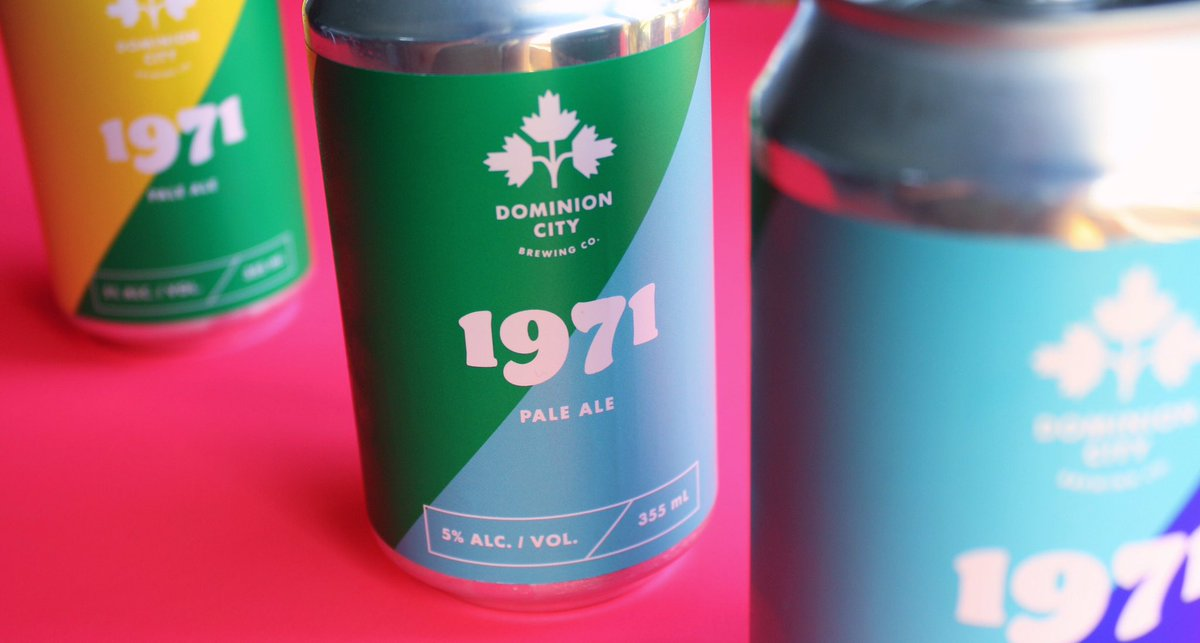 1971 Pale Ale from Dominion City! In honour of the We Demand protest which was the first LGBTQ+ demonstration in Canada.  @dominioncity #lgbtq🌈 #ontariocraftbeer #craftbeer #ottawacraftbeer #pride #dominioncity #canada #paleale https://t.co/BRwNbHSo7T