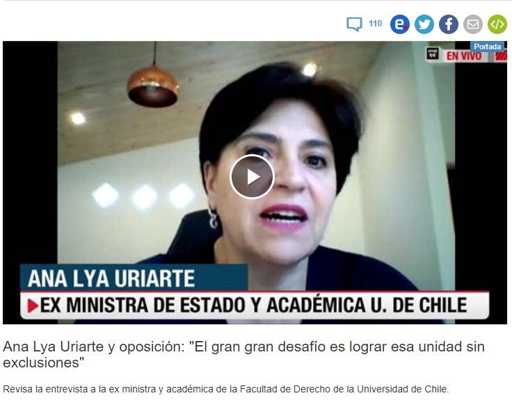Ana Lya Uriarte echándole carbón al fuego. https://t.co/0F7H0wiTMj