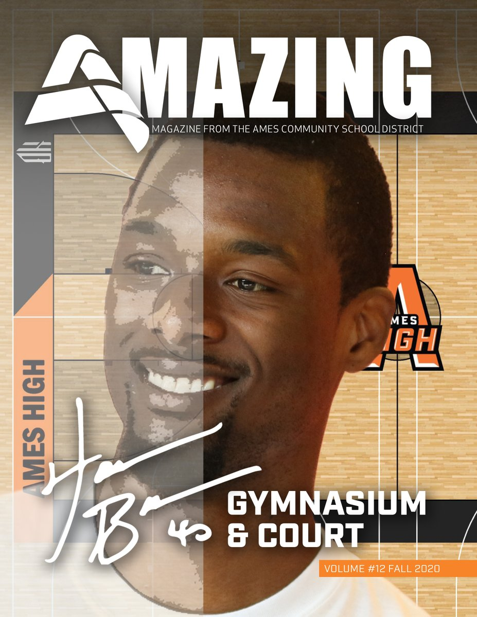 Ames High alum Harrison Barnes is on the cover of the latest edition of our award-winning Amazing Magazine. It is starting to hit mailboxes today in Ames, but you can read it online now! @hbarnes #AmesCSD #AmesHighPride https://t.co/3VCZFgUaHa https://t.co/Oz3K8Z2fG5